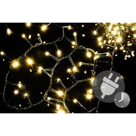 Vánoční světlený řetěz na dům / do interiéru, 1000 LED diod, 20 m