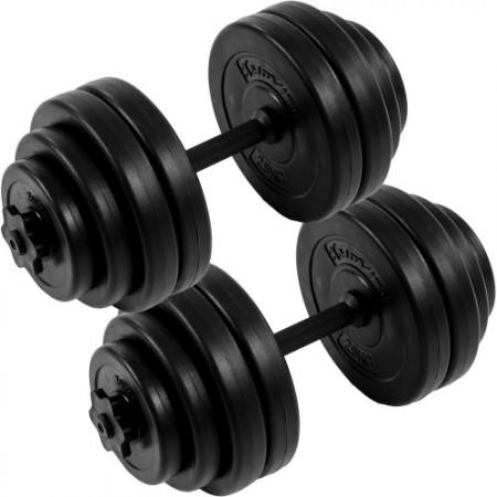Jednoruční čiky včetně závaží - sada 30 kg