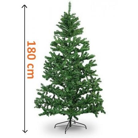 Umělý vánoční stromek se stojanem, výška: 1,80 m