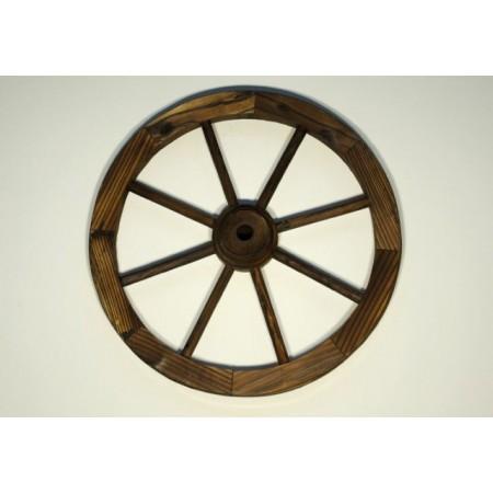 Dekorativní dřevěné kolo, průměr 50 cm