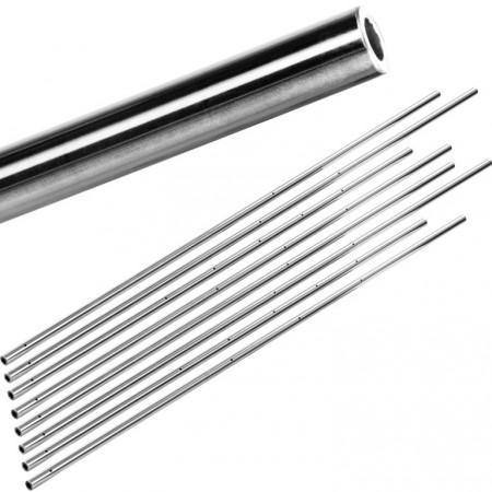 8 ks kovové duté tyče pro stolní fotbálky, průměr 15,9 mm