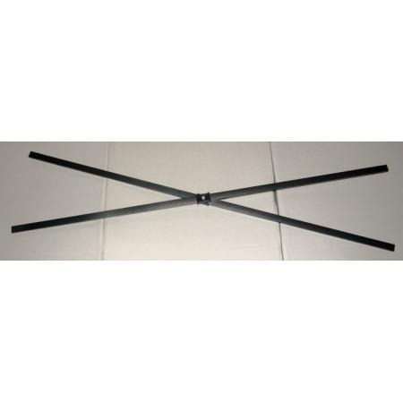Spojovací kříž (část nůžkové konstrukce) pro zahradní párty stany Deluxe, 96 cm