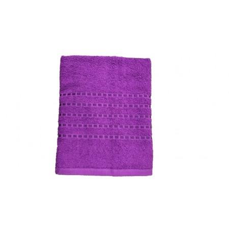 Froté osuška / ručník, 100% bavlna, 70x140 cm, fialová
