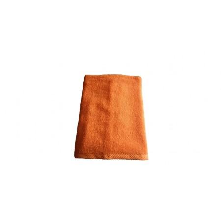 Měkký froté ručník s vysokou savostí, 100% bavlna, 50x100 cm, oranžový