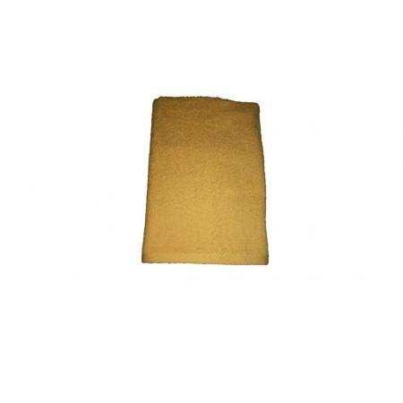 Měkký froté ručník s vysokou savostí, 100% bavlna, 50x100 cm, žlutý