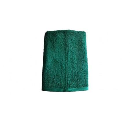 Měkký froté ručník s vysokou savostí, 100% bavlna, 50x100 cm, tmavě zelený
