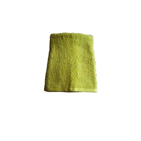 Měkký froté ručník s vysokou savostí, 100% bavlna, 50x100 cm, limetkový