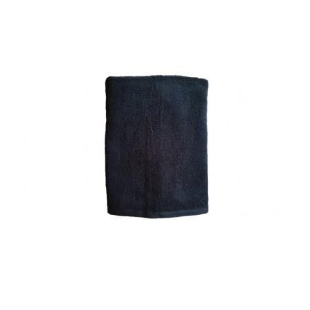 Měkký froté ručník s vysokou savostí, 100% bavlna, 50x100 cm, černý
