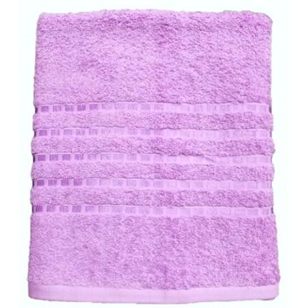 Kvalitní froté ručník jednobarevný, 100% bavlna, 50x100 cm, lila