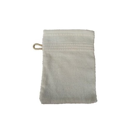 Měkká antibakteriální žínka, bambusové vlákno / bavlna, 14x22 cm, béžová