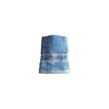 Antibakteriální ručník z bambusového vlákna / bavlny, 50x100 cm, tmavě modrý