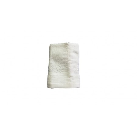 Antibakteriální ručník z bambusového vlákna / bavlny, 50x100 cm, bílý