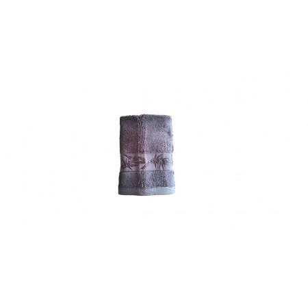 Antibakteriální ručník z bambusového vlákna / bavlny, 50x100 cm, tmavě šedý