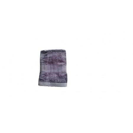 Antibakteriální bambusový ručník, rychleschnoucí, 50x100 cm, tmavě šedý