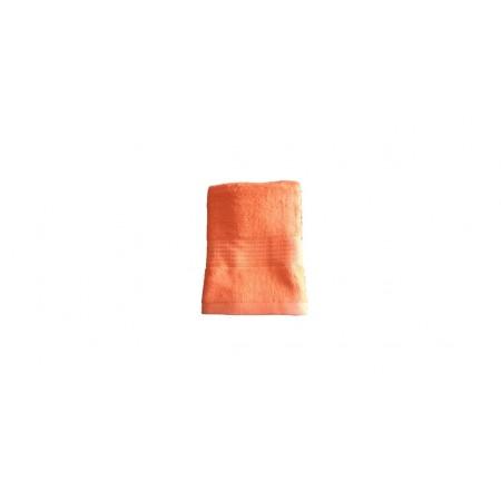 Antibakteriální bambusový ručník, rychleschnoucí, 50x100 cm, oranžový