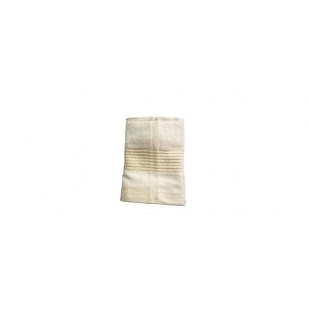 Jednobarevný ručník z bambusového froté, 50x100 cm, béžový