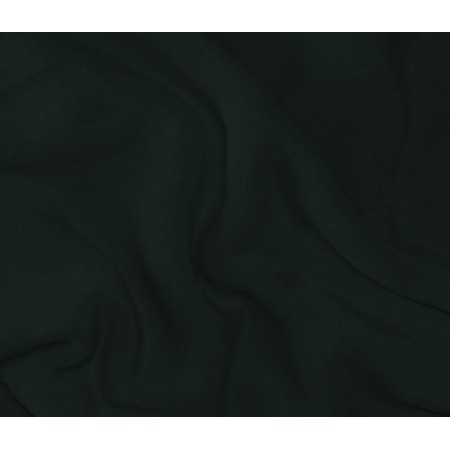 Mikroplyšové prostěradlo 90 x 200 cm- ČERNÁ