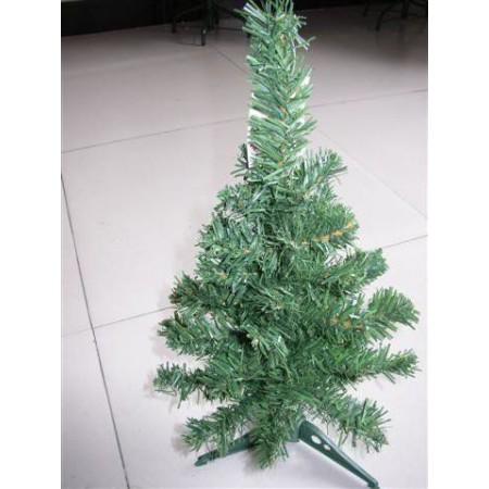 Menší umělý vánoční stromek s podstavcem, 45 cm