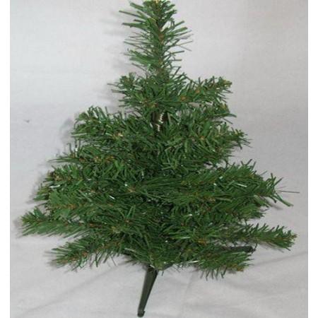 Menší umělý vánoční stromek s podstavcem, 30 cm
