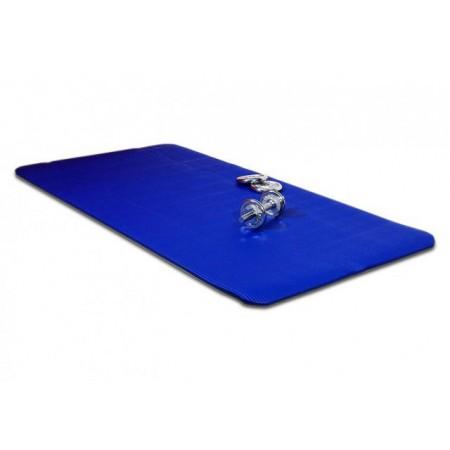 Podložka na jógu, pilates, cvičení 190 x 102 x 1,5 cm, modrá