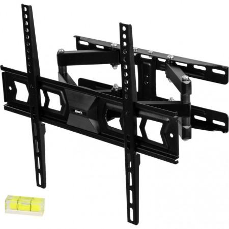 Pevný ocelový držák na TV otočný + sklopný, nosnost 100 kg