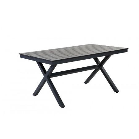 Bytelný bezúdržbový zahradní stůl hliník / polywood, 150 cm