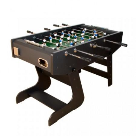Skládací stolní fotbal, 141 x  74 x 89 cm, zkosené rohy