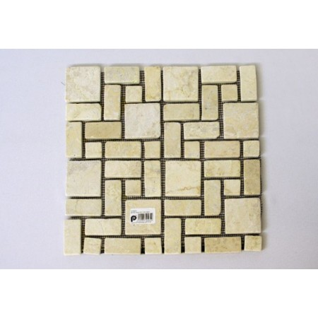 Obklad / dlažba mozaika - leštěný mramor, 1 m2