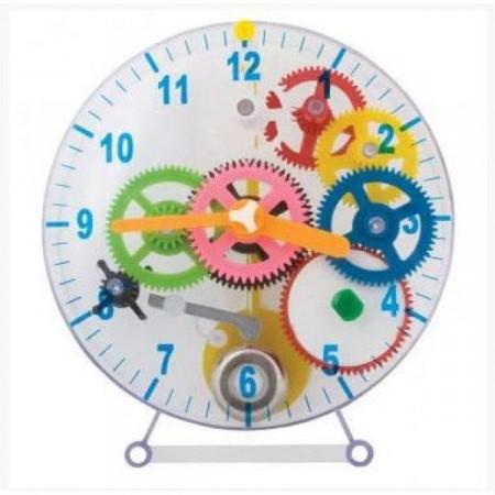 Stavebnice hodin, pro děti od 6 let, 21,5x19,6x3 cm