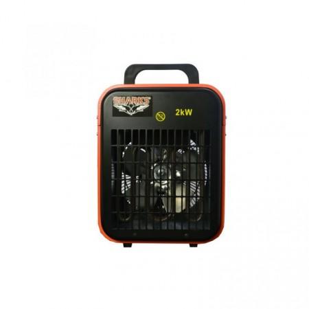 Elektrické topidlo BGP1402-02 2kW / 20 m3, termostat, 3 stupně výkonu