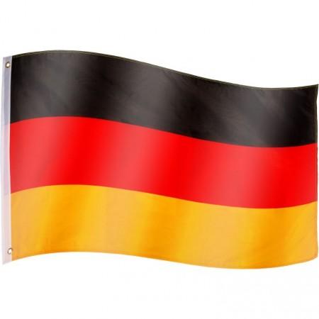 Vlajka Německa textilní (75 D polyester), s úchyty, 120x80 cm