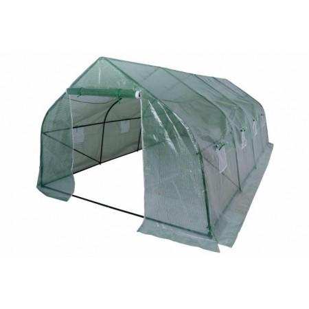 Velký zahradní , 1x vstup na zip, 8x okno, 600x280 cm