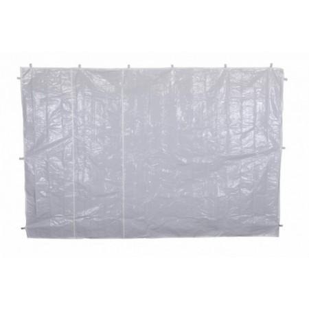 2 boční stěny pro stany 3x3 m, bez oken, bílá