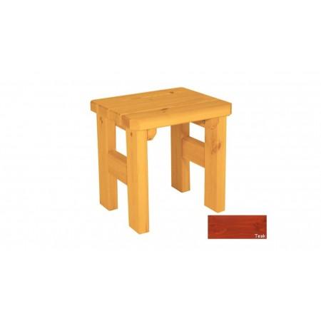 Zahradní dřevěná stolička Darina - s povrchovou úpravou - TEAK