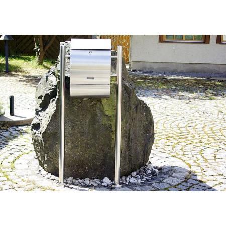 Poštovní schránka nerezová se stojanem