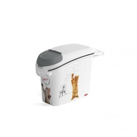 Kontejner - úložný box na krmivo pro kočky, objem 15 L