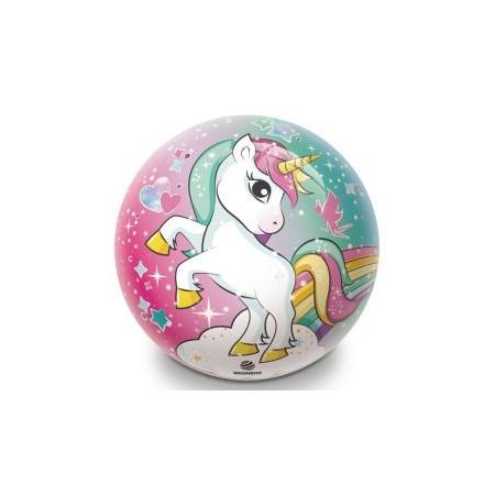 Hrací míč pro děti, potisk jednorožec, průměr 230 mm