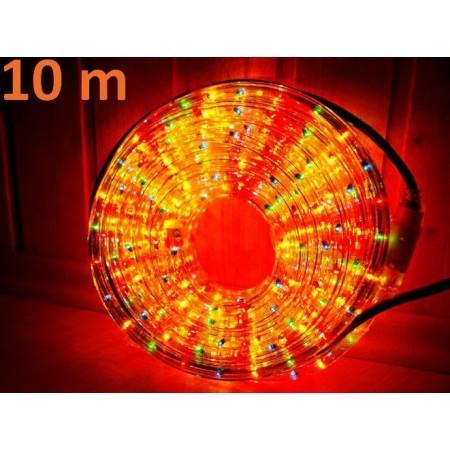 Světelný kabel barevný, venkovní / vnitřní, 10 m