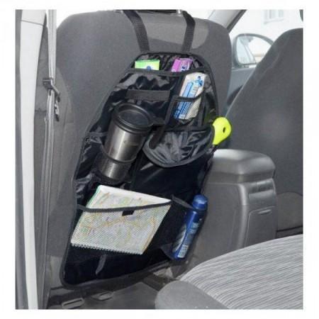 Organizér s kapsami na zadní stranu sedačky auta, 36,5 x 57 cm