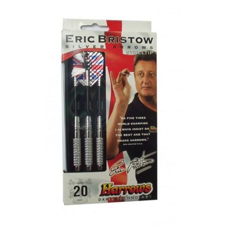 Házecí šipky s kovoými hroty Harrows Bristow, 18 g