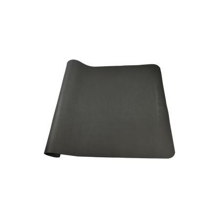 PVC pěnová protiskluzová podložka pod posilovací stroje, černá, 140x80 cm