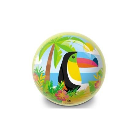 Nafukovací míč pro děti, potisk tukan, průměr 230 mm