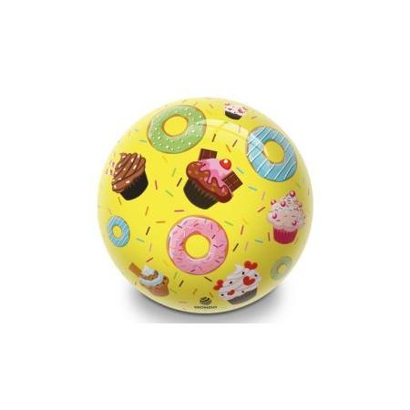 Nafukovací míč pro děti, potisk donuty, průměr 230 mm