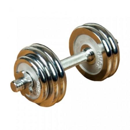 Jednoruční činka včetně závaží, 15 kg