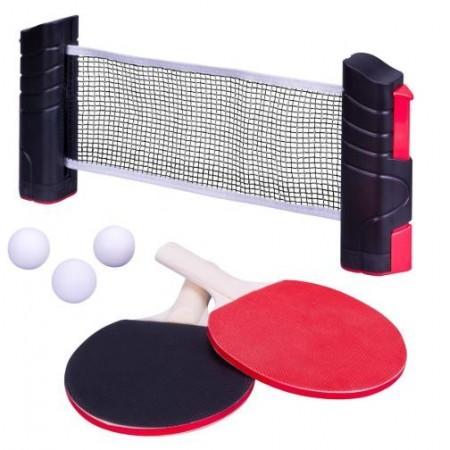 Sada na pingpong (stolní tenis), uchycení ke stolu