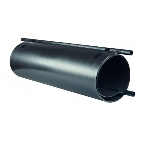 Ohřev k bazénu Slim 180, černý, 87x39x39 cm