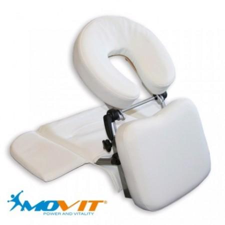 Masážní opěrka hlavy, polstrované opěrky, přenosná