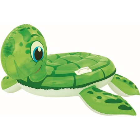 Nafukovací hračka- lehátko na vodu želva, 140x140 cm
