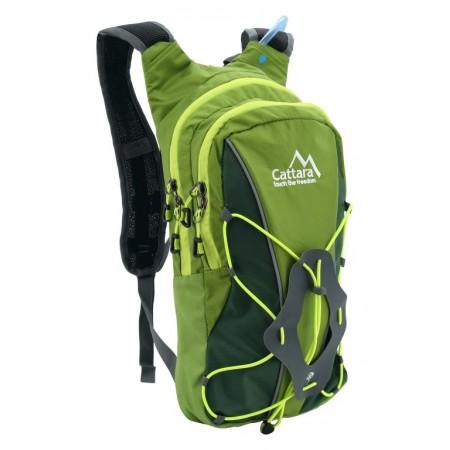Turistický / cykloturistický batoh 10 L s pitným vakem 2 L, odvětrávaná záda