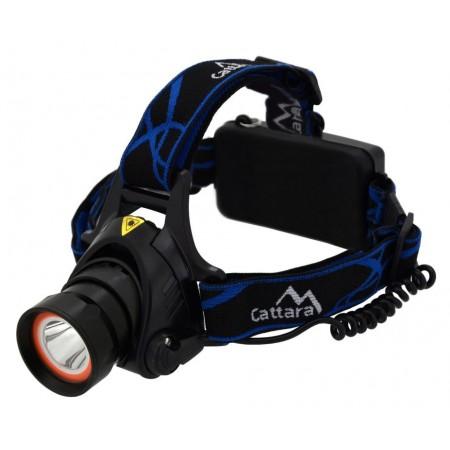 Čelovka / čelová lampa na hlavu, 1x XM-LED, 15x SMD LED, 400lm